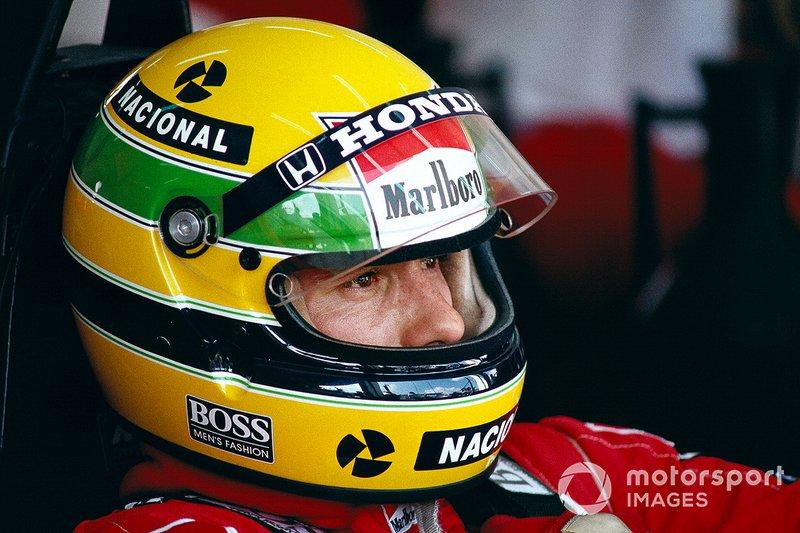 #1: Ayrton Senna