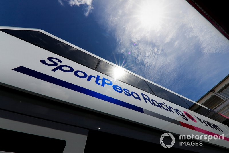 Racing Point Motorhome
