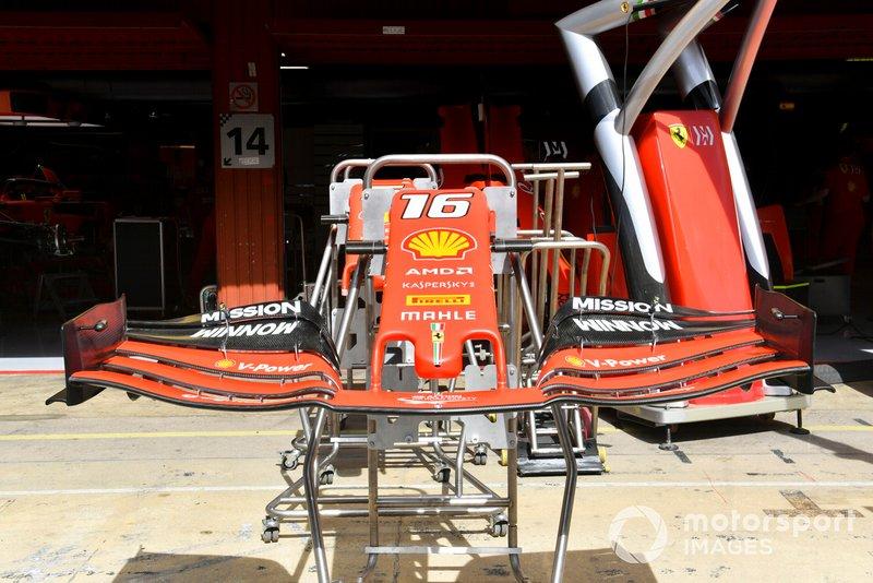 L'aileron avant de la Ferrari SF90