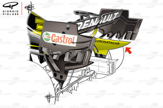 Renault F1 Team R.S.19 rear wing