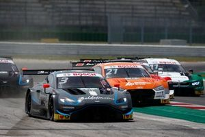 Paul Di Resta, R-Motorsport, Aston Martin Vantage AMR, Pietro Fittipaldi, Audi Sport Rosberg, Audi RS 5 DTM