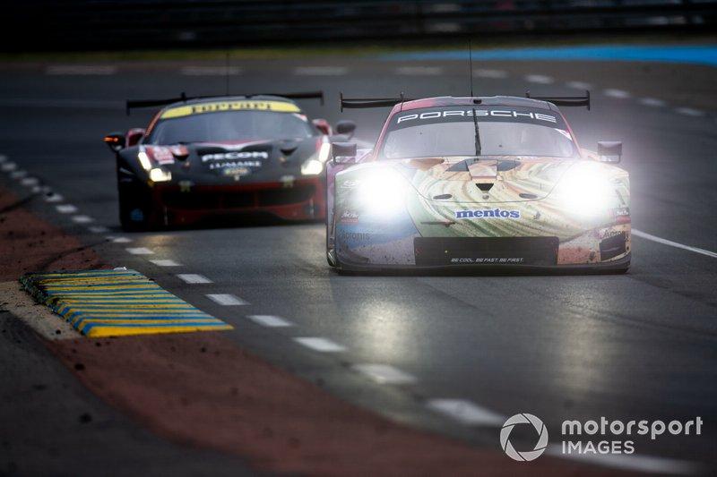 #86 Gulf Racing, Porsche 911 RSR: Michael Wainwright, Ben Barker, Thomas Preining
