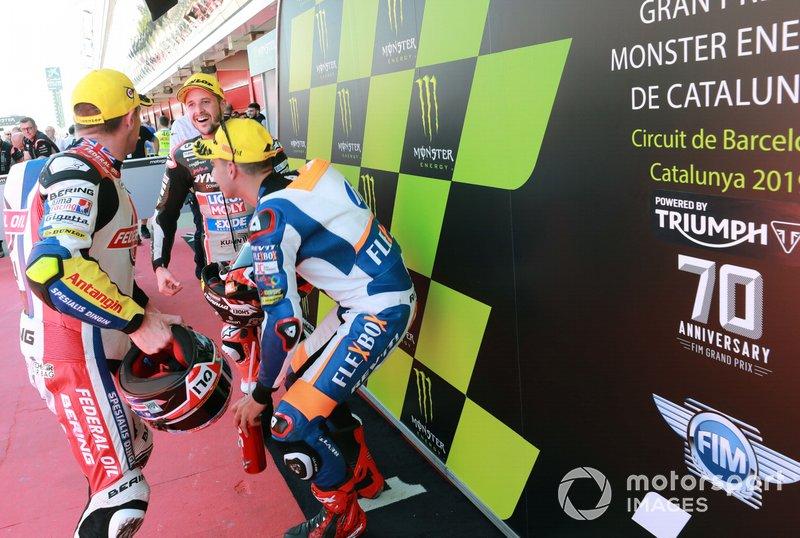 Thomas Luthi, Intact GP, Augusta Augusto Fernandez, Pons HP40, Sam Lowes, Gresini Racing