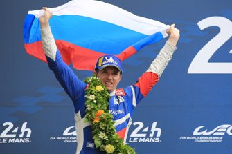 Terzo posto in generale #11 SMP Racing BR Engineering BR1: Mikhail Aleshin