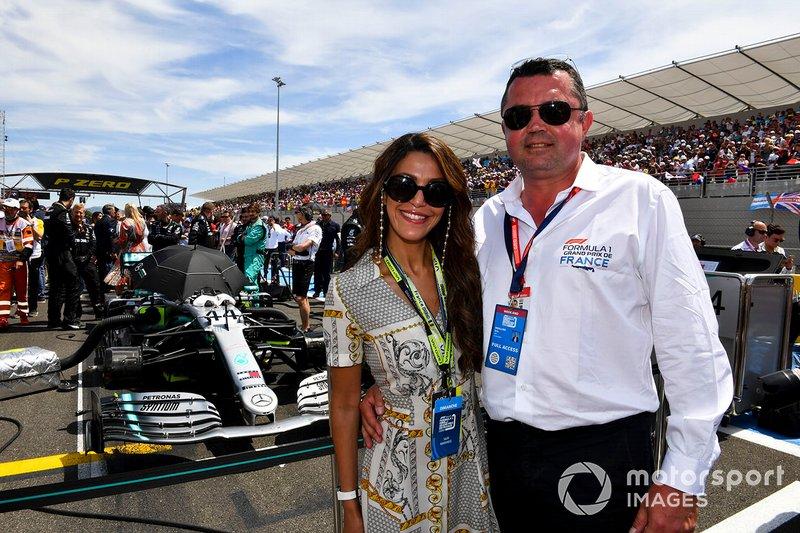 Эрик Булье и его жена Тамара