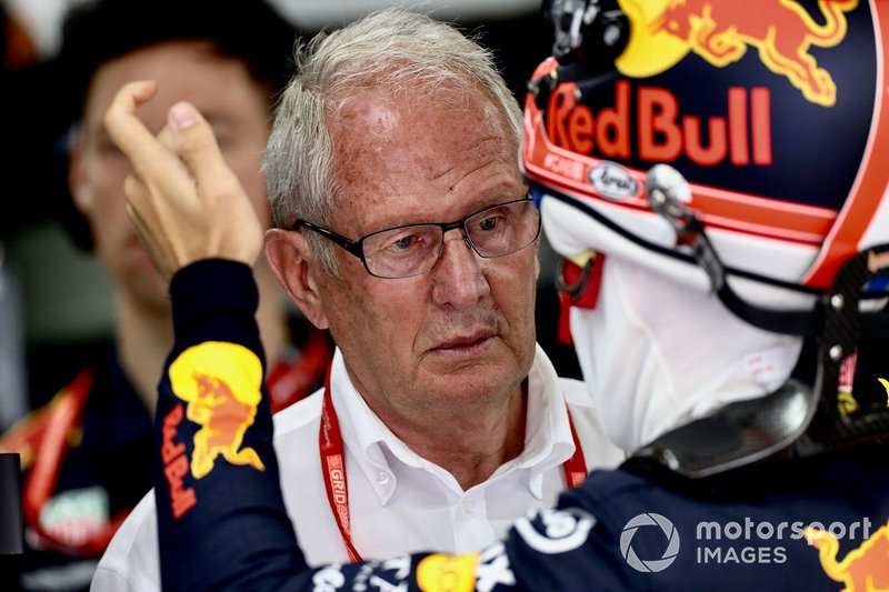 Helmut Marko, Konsultan, Red Bull Racing, Pierre Gasly, Red Bull Racing
