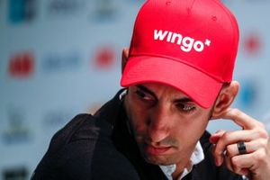 Sébastien Buemi, Nissan e.Dams, in the press conference