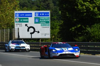 #68 Ford Chip Ganassi Racing Ford GT: Joey Hand, Dirk Müller, #82 BMW Team MTEK BMW M8 GTE: Antonio Felix da Costa, Alexander Sims, Augusto Farfus, Martin Tomczyk, Philipp Eng