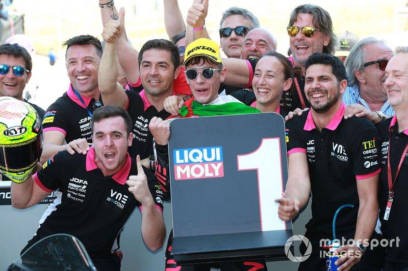 El ganador, Tony Arbolino, Team O