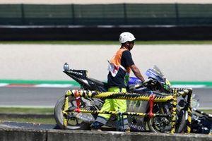 Valentino Rossi, Yamaha Factory Racing kazalı motosiklet