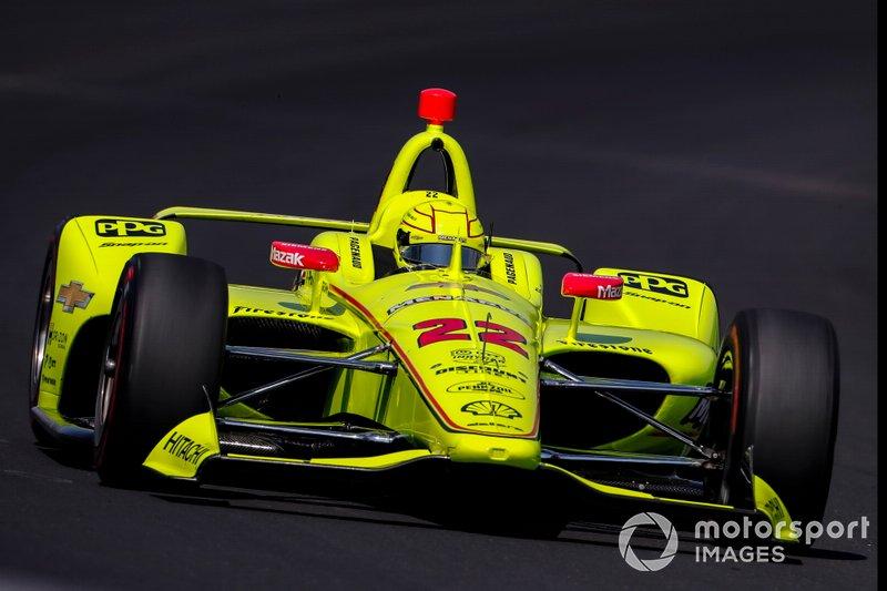 #22 Simon Pagenaud, Menards Team Penske, Team Penske Chevrolet