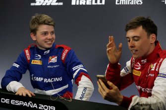 Robert Shwartzman, PREMA Racing and Marcus Armstrong, PREMA Racing