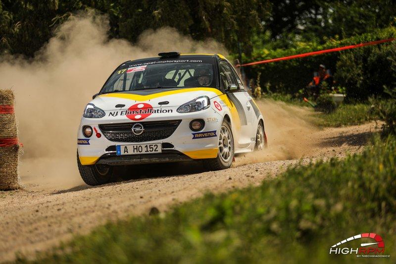Elias Lundberg, Opel Adam R2