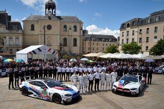Preparação da BMW para as 24 horas de Le Mans - Apresentação - segunda-feira