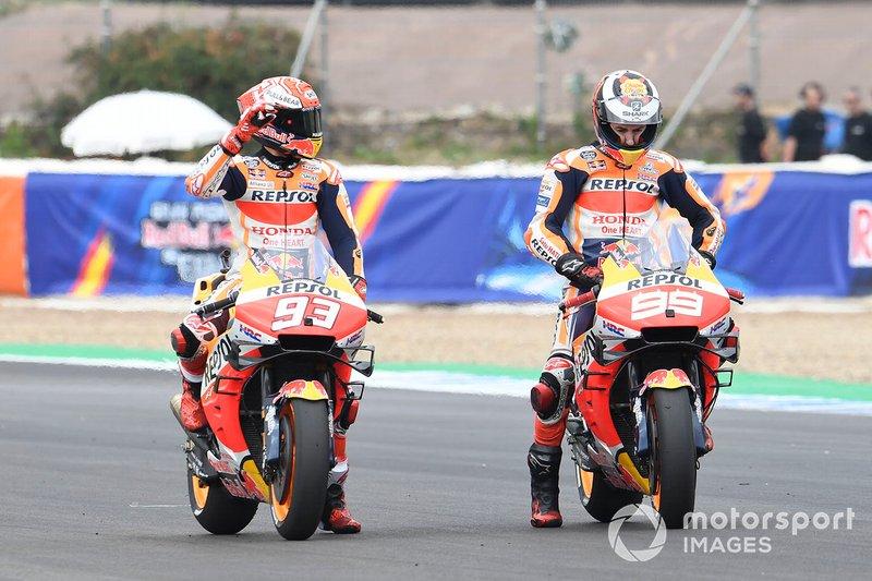 Jorge Lorenzo, Repsol Honda Team, Marc Márquez, Repsol Honda Team
