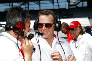 Ed Jones, Ed Carpenter Racing Scuderia Corsa Chevrolet, Scuderia Corsa owner Giacomo Mattioli