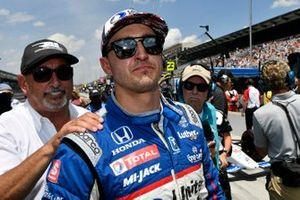 Graham Rahal, Rahal Letterman Lanigan Racing Honda, Bobby Rahal