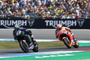 Maverick Vinales, Yamaha Factory Racing, Marc Marquez, Repsol Honda Team