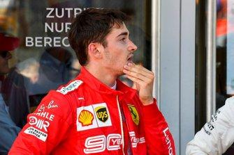 Charles Leclerc, Ferrari in Parc Ferme