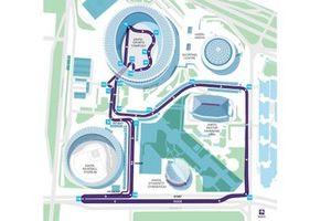 Mappa della pista di Seoul