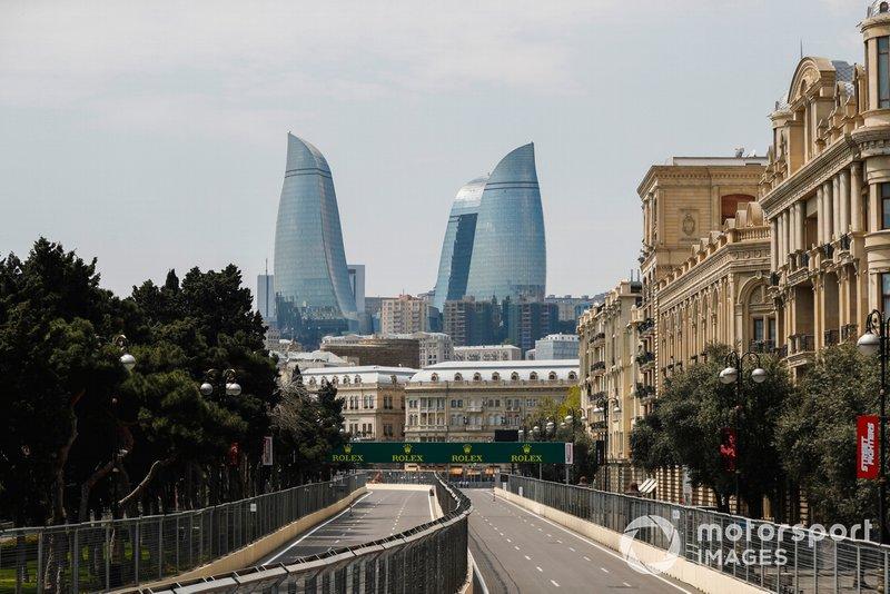 7- GP de Azerbaiyán (7 de junio), en Bakú