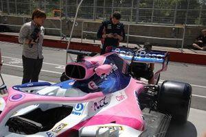Racing Point dettaglio tecnico