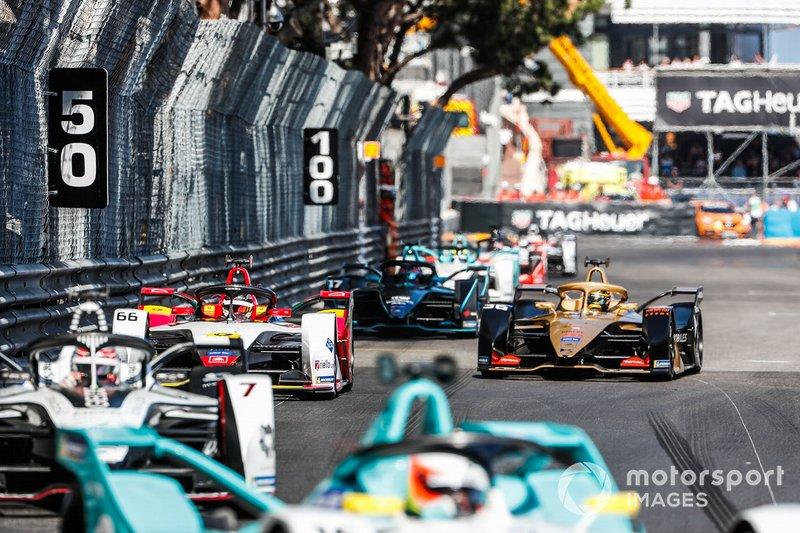 Daniel Abt, Audi Sport ABT Schaeffler, Audi e-tron FE05 Andre Lotterer, DS TECHEETAH, DS E-Tense FE19