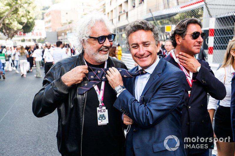 Alejandro Agag, CEO, Formula E, Flavio Briatore