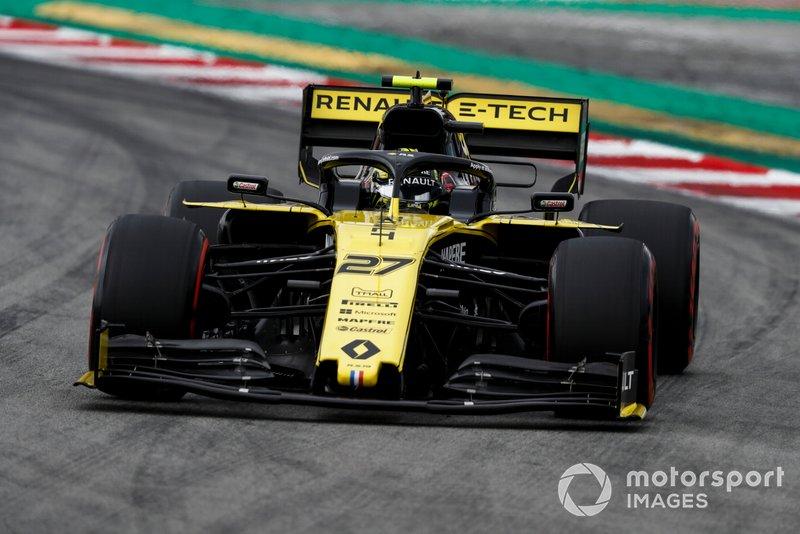 Nico Hulkenberg - Renault: 5 puan
