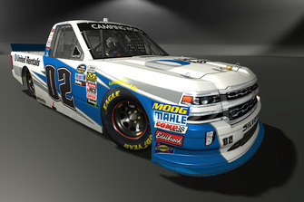 Austin Hill, Young's Motorsports, Chevrolet Silverado