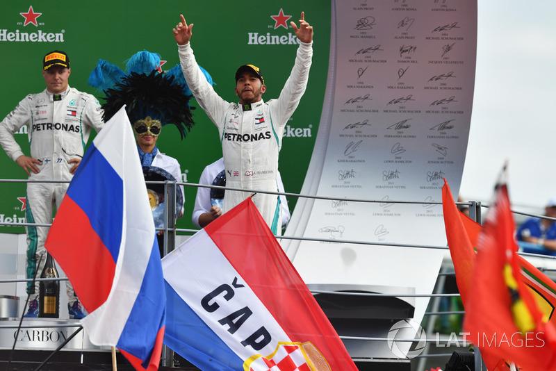 Lewis Hamilton győzelme az Olasz Nagydíjon