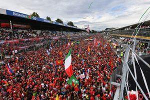 Les fans à Monza