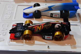Cars at F1 in Schools World Finals