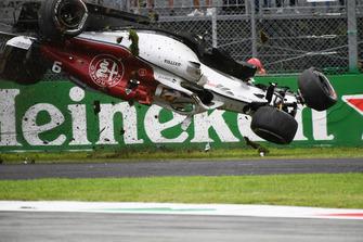 L'incidente di Marcus Ericsson, Sauber C37