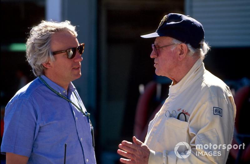 """""""Echo de menos a Senna. El era como un hijo para mí"""". Sid Watkins"""
