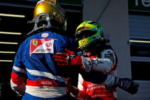Robert Shwartzman, PREMA Theodore Racing Dallara F317 - Mercedes-Benz and Mick Schumacher, PREMA Theodore Racing Dallara F317 - Mercedes-Benz