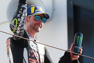 Podium: third place Cal Crutchlow, Team LCR Honda
