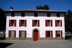 Fiorano 1987, Enzo Ferrari house