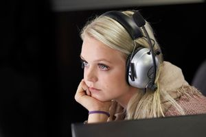 Emilia Pikkarainen, wife of Valtteri Bottas, Mercedes AMG F1