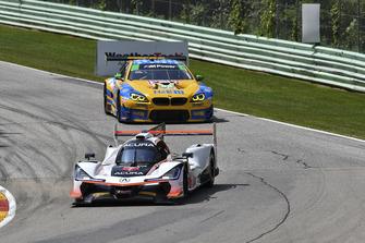 #7 Acura Team Penske Acura DPi, P - Helio Castroneves, Ricky Taylor, #96 Turner Motorsport BMW M6 GT3, GTD - Robby Foley, Bill Auberlen