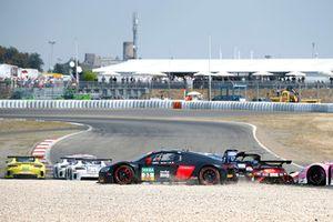 #33 Team ISR Audi R8 LMS: Filip Salaquarda, Frank Stippler in the gravel