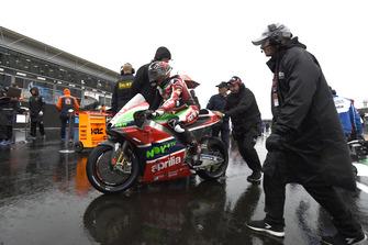 Scott Redding, Aprilia Racing Team Gresini, British MotoGP race 2018