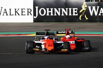 Richard Verschoor, MP Motorsport and Joey Mawson, Arden International