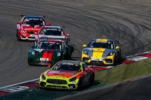 #165 Schnitzelalm Racing Mercedes-AMG GT4: Marcel Marchewicz, Marek Böckmann, Tim Neuser, Reinhold Renger