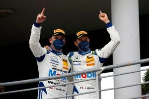 Podium: #13 Team Zakspeed Mobil Krankenkasse Racing Mercedes-AMG GT3 Evo: Jules Gounon, Igor Walilko