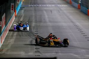 Jean-Eric Vergne, DS Techeetah, DS E-Tense FE21, Maximilian Gunther, BMW i Andretti Motorsport, BMW iFE.21
