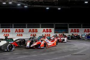 Alexander Sims, Mahindra Racing, M7Electro, Nyck de Vries, Mercedes-Benz EQ, EQ Silver Arrow 02, Joel Eriksson, Dragon Penske Autosport, Penske EV-5