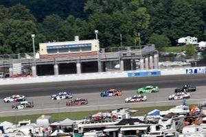 NASCAR-Action auf dem Michigan International Speedway in Brooklyn