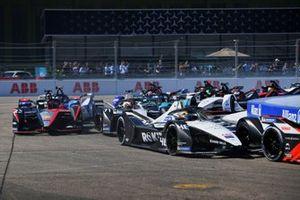Edoardo Mortara, Venturi Racing, Silver Arrow 02, Norman Nato, Venturi Racing, Silver Arrow 02, Sebastien Buemi, Nissan e.Dams, Nissan IMO3