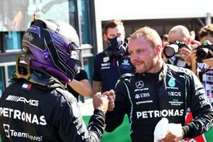 Lewis Hamilton, Mercedes en Valtteri Bottas, Mercedes